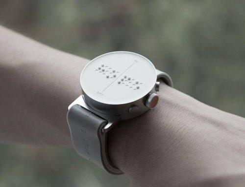 طراحی ساعت برای نابینایان