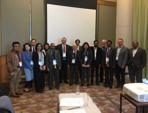 جلسه AEGC2018  با حضور دکتر باریکانی